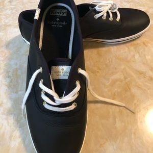 Kate Spade Keds Black Leather
